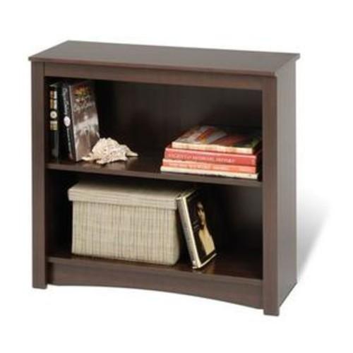 Prepac Sonoma Espresso 29 Inch 2-Shelf Bookcase