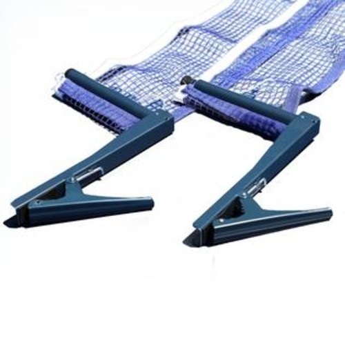 Blue Wave Deluxe Table Tennis EZ Clamp Clip-On Post & Net Set