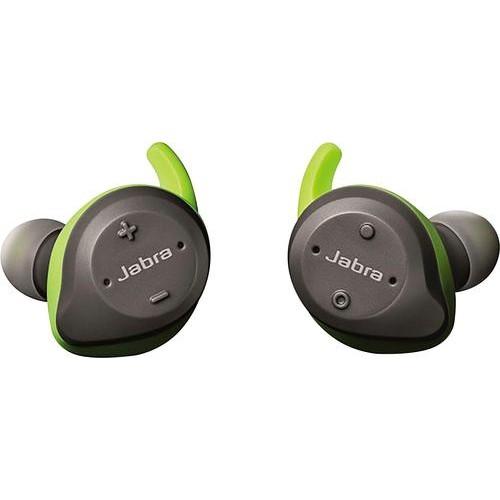 Jabra - Elite Sport True Wireless Earbud Headphones - Lime Green / Gray