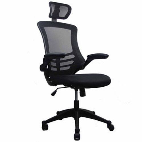 Techni Mobili Modern High Back Executive With Flip Up Arms Office Chair JCPenney