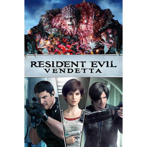 Resident Evil: Vendetta (4K Ultra HD + Blu-ray)