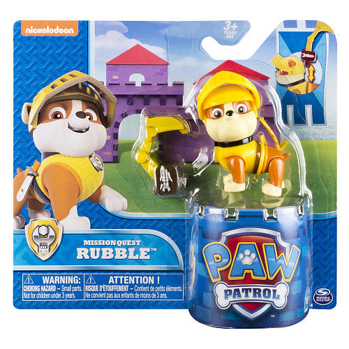 Nickelodeon Paw Patrol Hero Pup Mission Quest Figure - Medieval Rubble