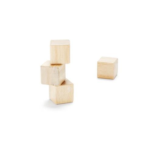 Tegu Natural 4-Piece Cube Set