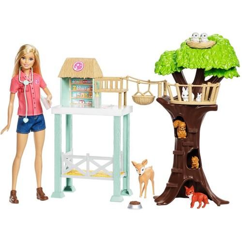 Barbie Rescue Center Playset