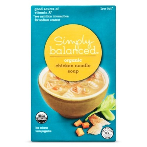 Organic Chicken Noodle 17oz - Simply Balanced