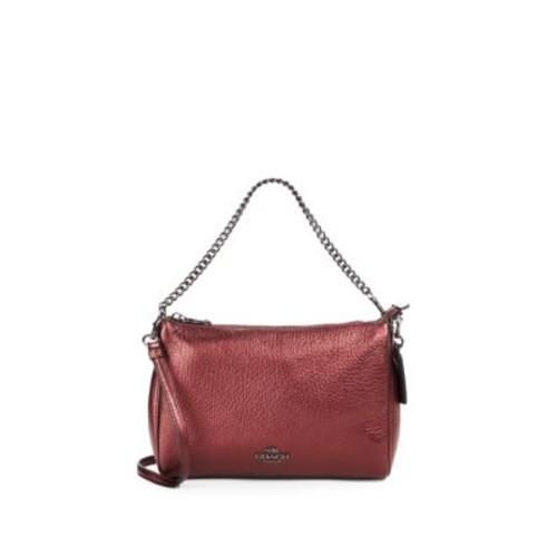 COACH - Carrie Leather Crossbody Bag
