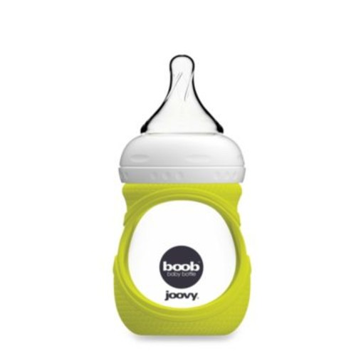 Joovy Boob 5-Ounce Glass Bottle and Silicone Sleeve in Green