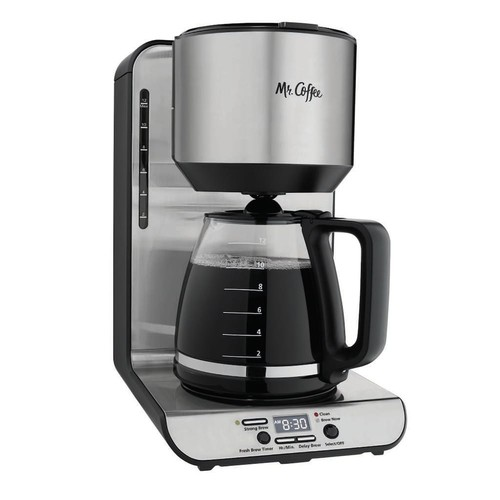 Mr. Coffee 12-Cup Programmable Stainless Steel Coffee Maker