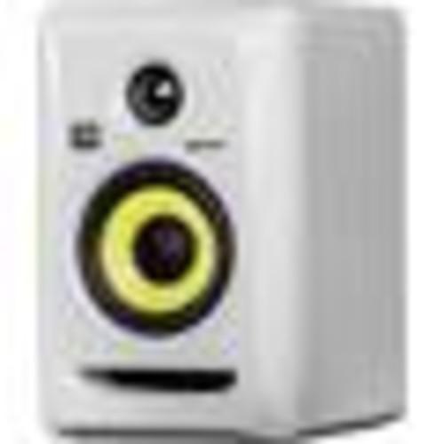 KRK ROKIT 4 G3 (White) 2-way powered studio monitor with 4