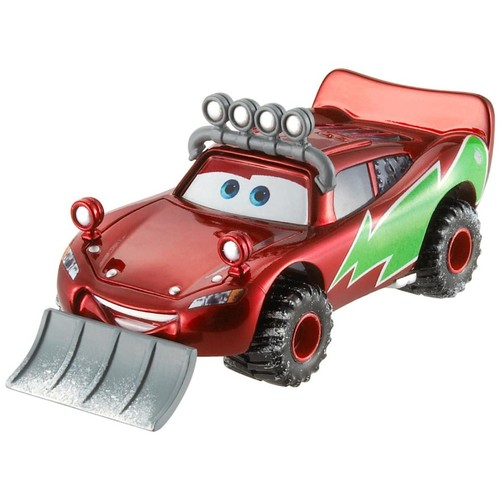 Disney Pixar Cars Diecast Vehicle - Snowplow Lightning McQueen