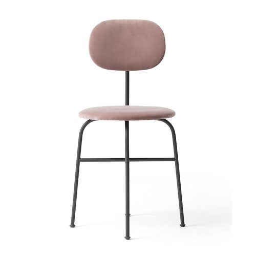 Afteroom Dining Chair Plus [Finish : Black \/ Dusty Rose]