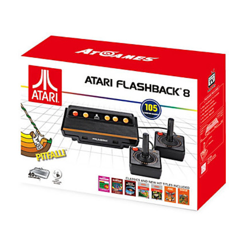 At Games Atari Flashback 8 Game Console, Black