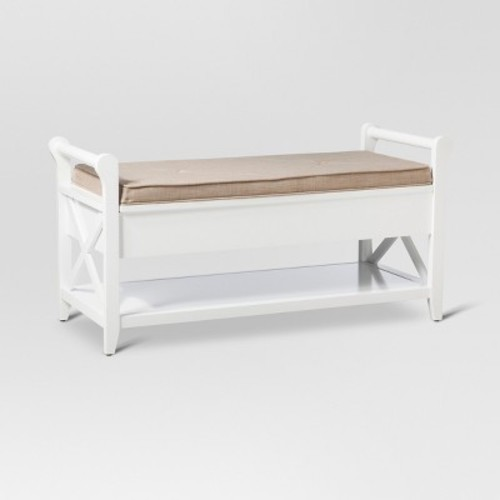 Vincent Entryway Bench Wood - Threshold