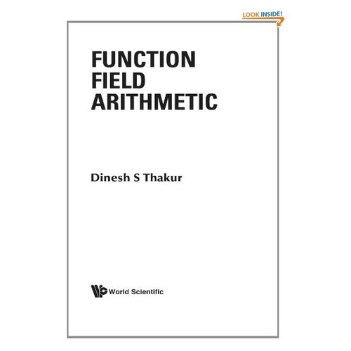 Function field arithmetic