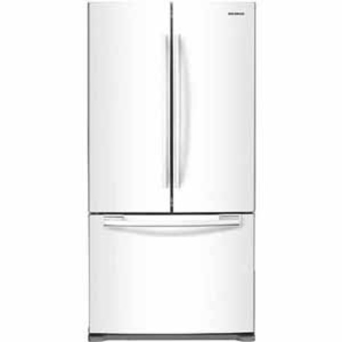 Samsung 18 cu. ft. Counter Depth French Door Refrigerator - White