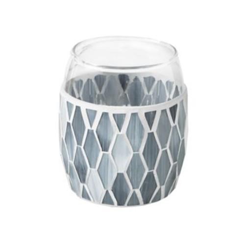 JLA Bath Mosaic Tumbler in Grey