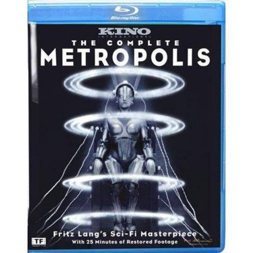 The complete metropolis (Blu-ray)