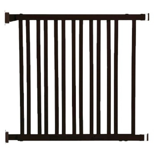 Dreambaby Nelson Expandable Wood Gate - Espresso