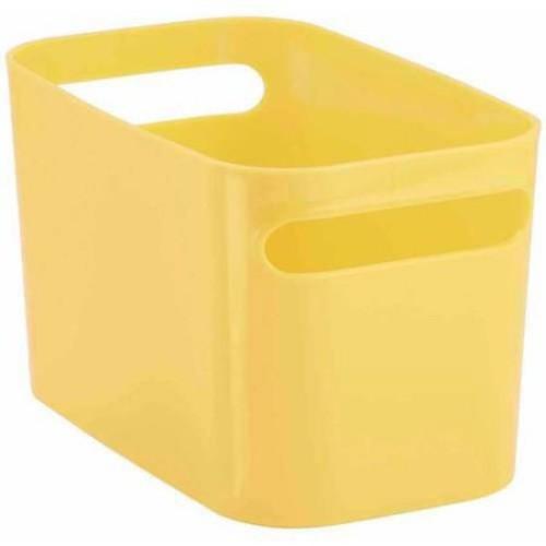 InterDesign Una Storage Bin, 10x6x6