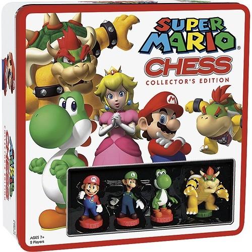 Super Mario - Chess Collector's Edition Board Game