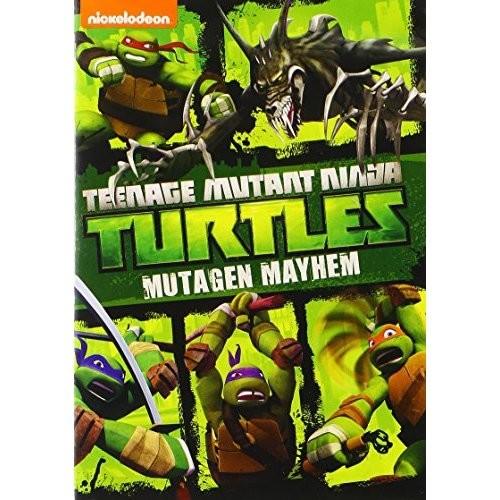 Teenage Mutant Ninja Turtles: Mutagen Mayhem (DVD + Teenage Mutant Ninja Turtles Movie Money) (Widescreen)