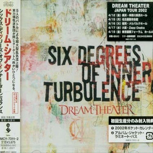 Six Degrees of Inner Turbulence [Bonus Track] [CD]