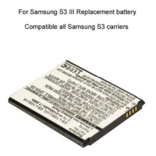 Cellet Replacement Battery for Samsung Galaxy S3