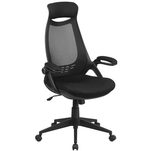 High Back Mesh Executive Swivel Chair with Flip-UpArms