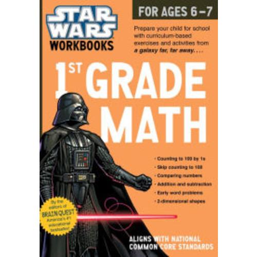 Star Wars Workbook: Grade 1 Math!