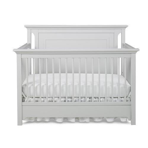 Ti Amo Palazzo 4-in-1 Convertible Crib - Misty Grey