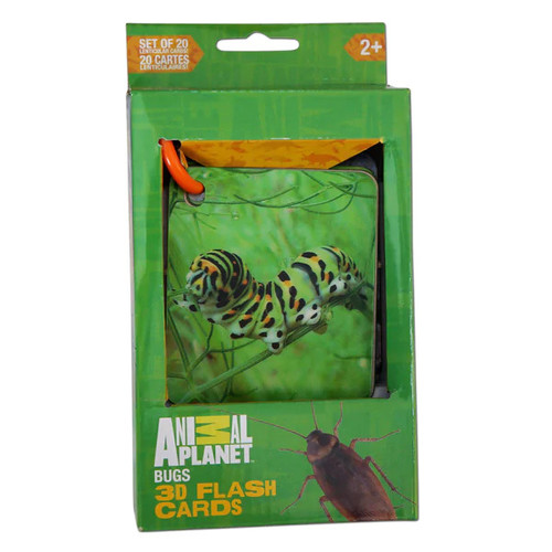 Animal Planet Bugs 3D Flash cards - 1