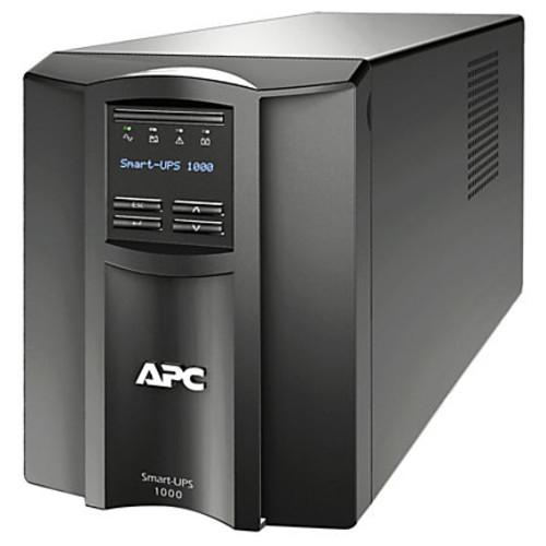 APC Smart-UPS 8-Outlet Standalone Tower Uninterruptible Power Supply, 1,000VA/700 Watts, SMT1000C