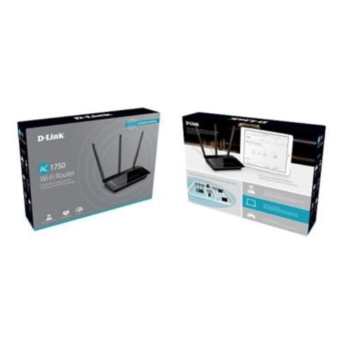 D-Link  DIR-859 AC1750 Wi-Fi Router, 1750Mbps, 5 Ports
