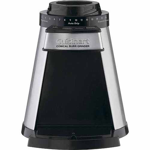 Cuisinart CBM-18N Programmable Conical Burr Mill [Stainless Steel]
