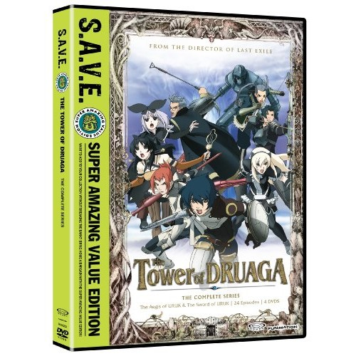 The Tower Of Druaga: Box Set S.A.V.E.: Todd Haberkorn, J. Michael Tatum, Travis Willingham, Zach Bolton: Movies & TV