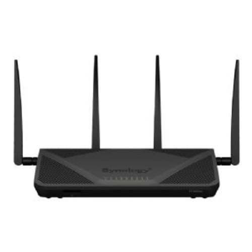 Synology RT2600ac - Wireless router - 4-port switch - GigE - 802.11a/b/g/n/ac - Dual Band