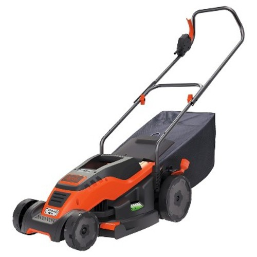BLACK+DECKER 15 in. 10-Amp Corded Electric Walk Behind Push Lawn Mower