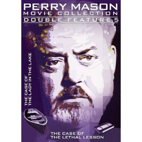 Perry Mason Double Feature: (The Case of the Lady in the Lake / The Case of the Lethal Lesson)