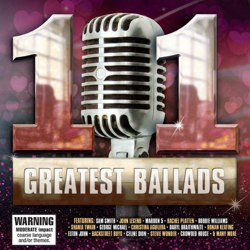 101 Greatest Ballads [CD]