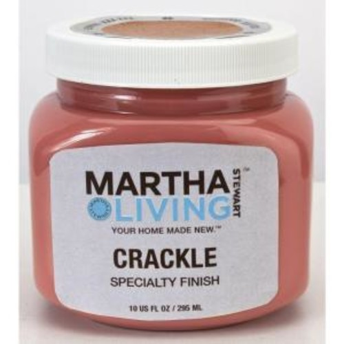 Martha Stewart Living 10 oz. Redwood - Crackle Paint