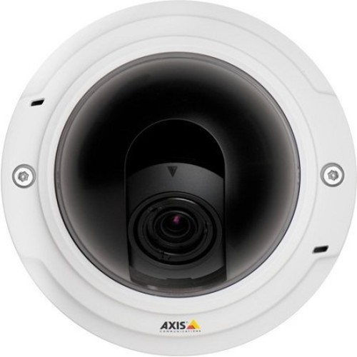 Axis Communications 0465-001 Tamper-Resistant Indoor Fixed Dome Network Camera