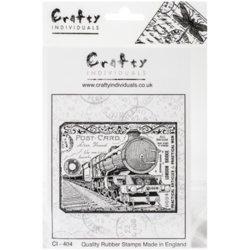 Crafty Individuals Unmounted Rubber Stamp 4.75\