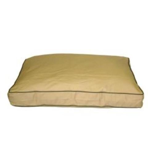 Small Khaki Classic Twill Rectangle Jamison Bed