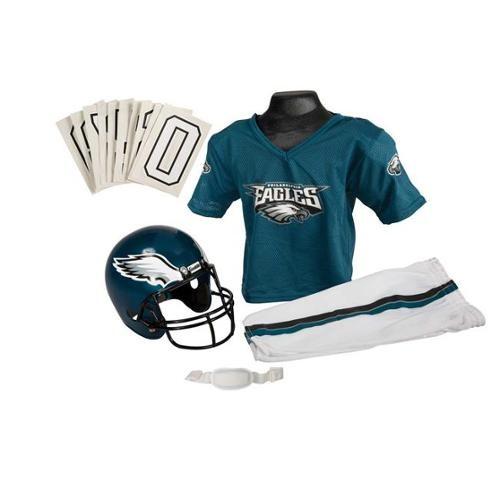 Franklin Sports 15701F10P1Z NFL EAGLES Medium Uniform Set