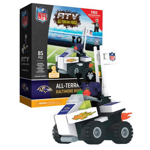 OYO Sports NFL Baltimore Ravens NFL 4 wheel ATV with Mascot