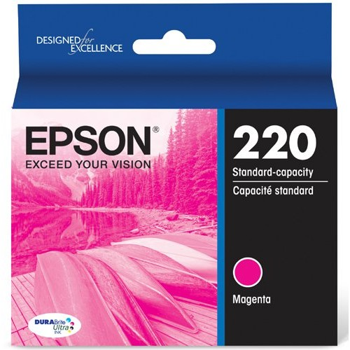 Epson T220320 DURABrite Ultra Magenta Standard Capacity Cartridge Ink