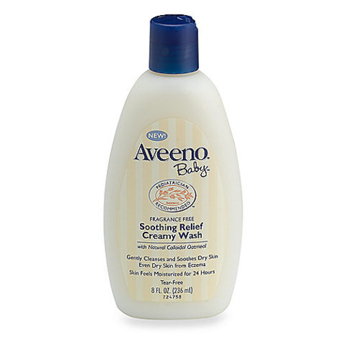 Aveeno Baby 8 oz. Soothing Relief Creamy Body Wash