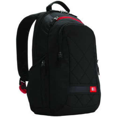 Case Logic 14 Laptop Backpack Black (DLBP-114BLACK)