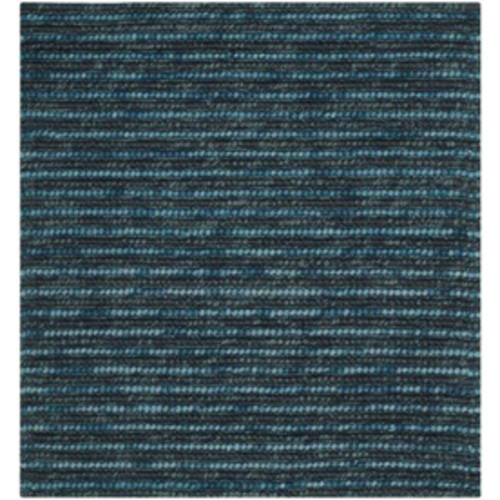 Safavieh Bohemian Lina Dark Blue Square Indoor Handcrafted Lodge Area Rug (Common: 6 x 6; Actual: 6-ft W x 6-ft L)