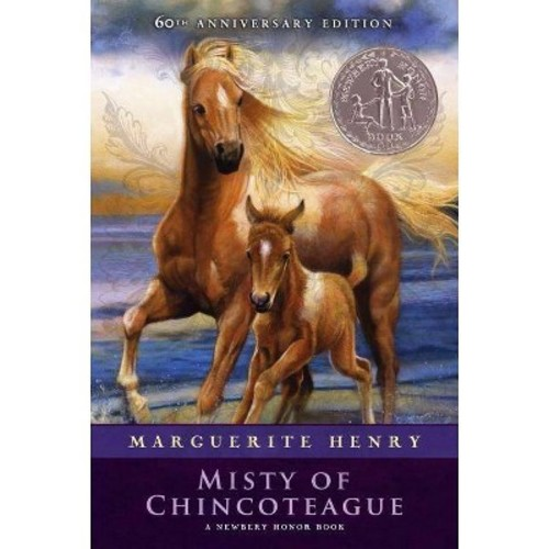 Misty of Chincoteague (Reissue, Anniversary) (Paperback) (Marguerite Henry)